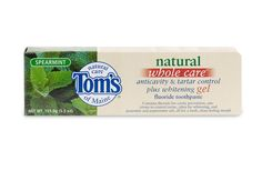 Tom's of Maine natural toothpastes make brushing your teeth so much nicer. The licorice flavor is my favorite.