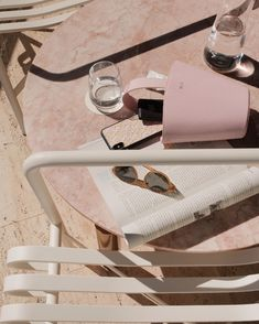 Poolside with our Logomania iPhone case and Pink Wisteria Open Bucket Bag Beach Aesthetic, Summer Aesthetic, Pink Aesthetic, Aesthetic Grunge, Everything Pink, Pink Walls, Blogger Tips, Wall Collage, Picture Wall