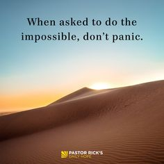 Has someone ever asked you to do something you thought was impossible? Maybe a friend, boss, or parent came to you and wanted you to do something that seemed too big for you. You may … Continue reading How to Tackle the Impossible Grace Quotes, Son Quotes, Bible Quotes, Bible Scriptures, 40 Days Of Prayer, Prayer For Family, Pastor Rick Warren, Success Message, Secret Quotes