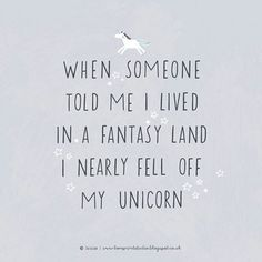 Still in a #unicorn mood following this mornings post... #loveprintstudioblog #design #typography #unicorns #quoteoftheday #quote #fantasyland #instaquote #type #handlettering #lol