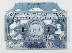 Meticulously Cut Currency Collages by Rodrigo Torres
