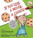 You give a mouse a cookie, then he wants a glass of milk.  After the glass of milk, he will want a napkin, etc...  The mouse is always wanting something more!