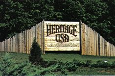 Heritage USA (abandoned religious theme park of Jim and Tammy Faye Bakker)