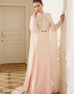 2016 Yazının En Güzel 40 Tesettür Abiye Elbise Modeli-1