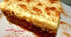 Ελληνικές συνταγές για νόστιμο, υγιεινό και οικονομικό φαγητό. Δοκιμάστε τες όλες Greek Sweets, Greek Desserts, Party Desserts, Greek Recipes, Dessert Recipes, Turkish Sweets, Sweets Cake, Cupcake Cakes, Cupcakes