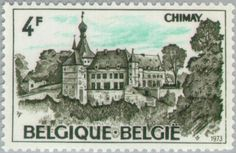 Sello: Chimay (Bélgica) (Logne Castle, Ferrieres) Mi:BE 1745,Yt:BE 1686,Bel:BE 1693