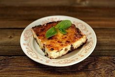 Cottage cheese casserole with raisins and a banana | Recipe