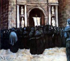 Darío de Regoyos y Valdés - Las Hijas de Maria