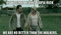 The Walking Dead S4 funny memes--  shut up Dale!