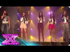 Fifth Harmony Stand By Each Other - THE X FACTOR USA 2012
