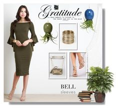"""Bell Sleeves"" by sans-moderation ❤ liked on Polyvore featuring Anne Michelle and Dot & Bo"