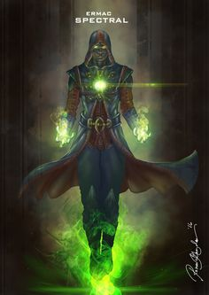 Mortal Kombat X Ermac-Spectral Variation by Grapiqkad on DeviantArt