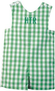 if i have to have kids, they will wear monogramed outfits every other day!!
