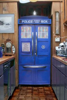 Is your refrigerator boring? Are you a Doctor Who fan?