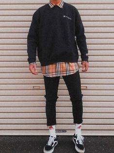 casualfashion Veja como usar moda retrô no seu estilo, com dicas simples. Korean Fashion Men, 80s Fashion, Look Fashion, Fashion Outfits, Fashion Rings, Mens Grunge Fashion, Retro Fashion Mens, Fashion Check, Retro Men