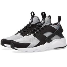 size 40 b09b4 f9157 Nike Air Huarache Run Ultra ($130) ❤ liked on Polyvore featuring men's  fashion Nike