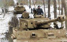 Tiger 1's of Das Reich 43