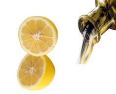 jugo de limo y oliva
