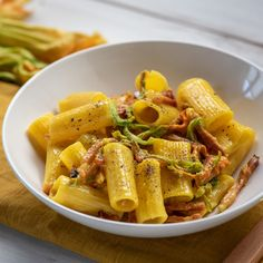 Speck rigatoni and zucchini flowers – Flower Ideas Pasta Recipes, Cooking Recipes, Healthy Recipes, Game Recipes, Chicken Recipes, Best Italian Recipes, French Recipes, Canadian Recipes, English Recipes