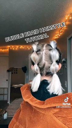 Kids Braided Hairstyles, Cute Hairstyles For Short Hair, Cute Volleyball Hairstyles, Medium Hair Styles, Short Hair Styles, Hair Tips Video, Crimped Hair, Braids For Short Hair, Hair Looks