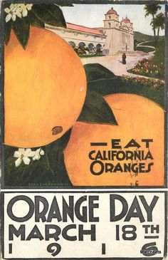 orange day postcard