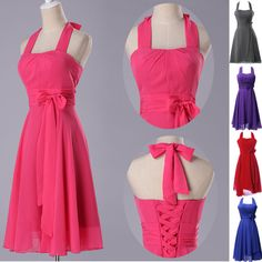 Short Mini Formal Prom Dress Cocktail Ball Evening Party Homecoming Gown Dresses #GK #BallGown