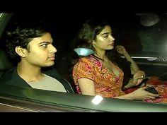 Sridevi with family at special screening of DEAR ZINDAGI movie.