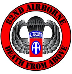Army Airborne | 82nd Airborne (AR-15) (MY DADDY SERVED) His name is Wilson Ellis Cooke. I love him so much & thank him for his service <3