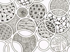CIRCULAR DOODLES, via Flickr.