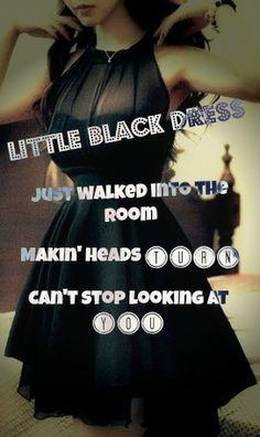 The black dress song lyrics