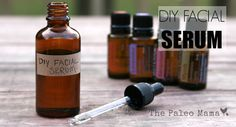 A simple and effective homemade facial serum recipe that includes essential oils that are known for their anti-aging properties!