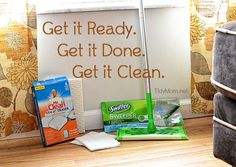 use Swiffer Sweepers