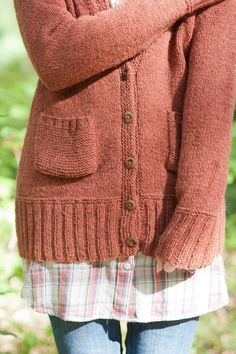 maude cardigan by carrie bostick hoge / quince & co. owl