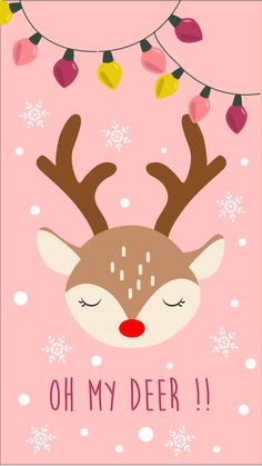 New girly christmas wall paper backgrounds ideas Christmas Phone Wallpaper, Holiday Wallpaper, Winter Wallpaper, Illustration Inspiration, Illustration Noel, Christmas Illustration, Illustrations, Kawaii Wallpaper, Wallpaper Iphone Cute