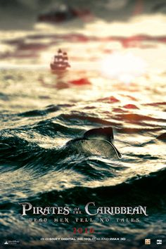 """movieshaswposter: """"Pirates of the Caribbean: Dead Men Tell No Tales """""""