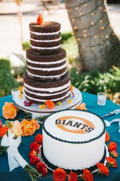 San Francisco Giants Groom S Cake With Chocolate Wedding