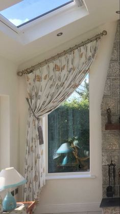 Pole on a slant Double Window Curtains, Corner Curtains, Sliding Door Curtains, Teal Curtains, Roman Curtains, Elegant Curtains, Pergola Curtains, Kids Curtains, Slanted Walls