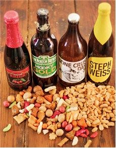Fine Wine and Spirits - Beer: Awesome Foursome with Snacks! Beer Online, Fine Wine And Spirits, St Patricks Day, Craft Beer, Snacks, Awesome, Appetizers, Home Brewing, Treats