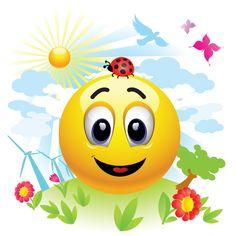 Smiley in a Clean Environment Smiley Emoticon, Emoticon Faces, Good Morning Happy Friday, Happy Today, Foto Blog, Funny Emoji, Happy Hippie, Smile Face, Brighten Your Day