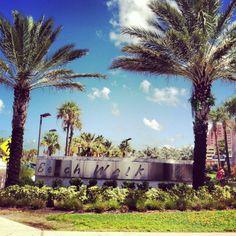 beach walk, clearwater beach, florida.