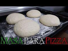 Cómo hacer masa de pizza fina, crujiente y fácil - YouTube Berry Smoothie Recipe, Easy Smoothie Recipes, Snack Recipes, Pizza Fina, Homemade Frappuccino, Grilled Fruit, Cookout Food, Food Shows, Pizza Dough