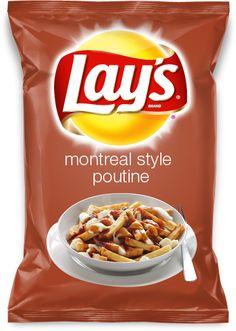 Lay's Montreal Style Poutine Potato Chips