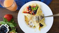 Get your day started the paleo way with crepes that are loaded up with goodness.