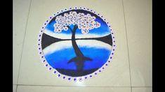 Beautiful Poster Rangoli || Spring Season Rangoli Design || Vasant Panch... Poster Rangoli, Rangoli Colours, Free Hand Rangoli, Simple Poster, Hindu Festivals, Colored Sand, Hindu Deities, Art Base, Beautiful Posters