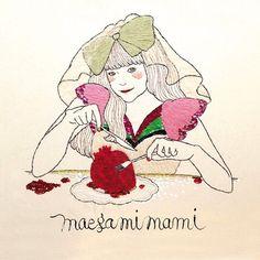 Dec18.大好きなイラストレーターmaegamimamiさん.一緒にお仕事したいなぁ..!