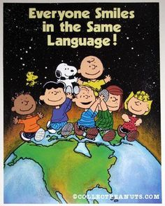 Peanuts Gang - Everyone Smiles in the Same Language!