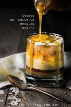 Delicious and Cozy Eggnog Butterscotch Russian Cocktail Drink Recipe #indybloggersseries #cozyinindiana