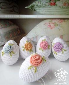 Crochet Cactus, Crochet Leaves, Cute Crochet, Crochet Flowers, Easter Crochet Patterns, Crochet Patterns Amigurumi, Crochet Toys, Easter Toys, Easter Crafts