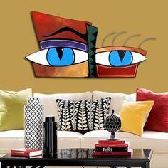 Esculturas De Pared Abstracto Moderno Minimalista 140x70 - $ 389,88 en MercadoLibre
