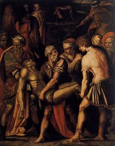 Entombment by Giorgio Vasari